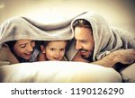 every morning we have fun.... | Shutterstock . vector #1190126290