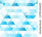 abstract polygon blue graphic... | Shutterstock .eps vector #1190144620