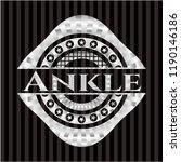ankle silver badge | Shutterstock .eps vector #1190146186