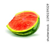 fresh  nutritious and tasty... | Shutterstock .eps vector #1190159329