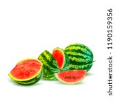 fresh  nutritious and tasty... | Shutterstock .eps vector #1190159356