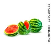 fresh  nutritious and tasty... | Shutterstock .eps vector #1190159383