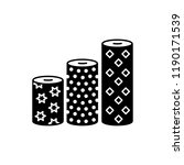 black   white vector... | Shutterstock .eps vector #1190171539