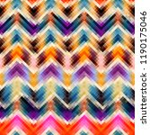 geometric abstract pattern in... | Shutterstock .eps vector #1190175046