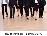 large diverse group of business ... | Shutterstock . vector #119019190