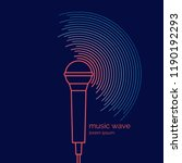 poster of the sound microphone. ...