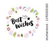 hand drawn lettering phrase...   Shutterstock .eps vector #1190203183