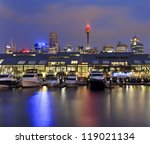 Sydney Pyrmont Bay View On...