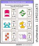 math skills training visual... | Shutterstock .eps vector #1190211673