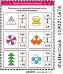 math skills training visual... | Shutterstock .eps vector #1190211676
