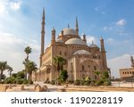 The Great Mosque of Muhammad Ali Pasha or Alabaster Mosque Situated on the summit of the citadel, this Ottoman mosque, with its animated silhouette and twin minarets, the most visible mosque in Cairo.