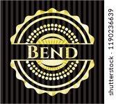 bend shiny emblem   Shutterstock .eps vector #1190236639