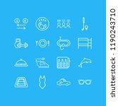 vector illustration of 16... | Shutterstock .eps vector #1190243710