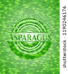 asparagus realistic green... | Shutterstock .eps vector #1190246176