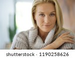portrait of 40 year old woman... | Shutterstock . vector #1190258626