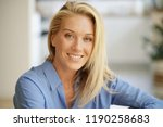 portrait of beautiful middle... | Shutterstock . vector #1190258683