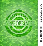 appropriate realistic green... | Shutterstock .eps vector #1190267170