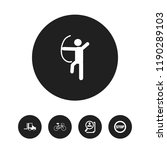 set of 5 editable complex icons....