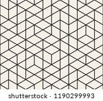 vector seamless geometric... | Shutterstock .eps vector #1190299993