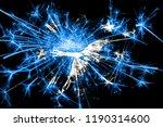 corpus christi  texas fireworks ... | Shutterstock . vector #1190314600
