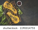 simple autumn domestic recipes  ... | Shutterstock . vector #1190314753