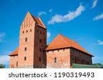 trakai island castle | Shutterstock . vector #1190319493