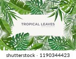 horizontal background with... | Shutterstock .eps vector #1190344423