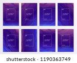 stock vector set kit collection ... | Shutterstock .eps vector #1190363749
