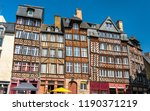 traditional half timbered... | Shutterstock . vector #1190371219