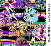 seamless geometric pattern... | Shutterstock .eps vector #1190375593
