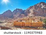 the mount sinai and st... | Shutterstock . vector #1190375983