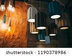 various concrete trendy... | Shutterstock . vector #1190378986