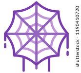 spider web vector illustration...   Shutterstock .eps vector #1190410720