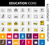 education icons collection | Shutterstock .eps vector #1190420779
