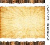 vintage paper background   Shutterstock . vector #119042914