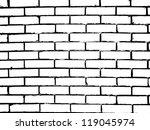 brick wall. vector illustration   Shutterstock .eps vector #119045974
