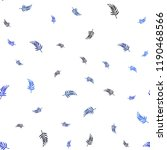 dark blue vector seamless... | Shutterstock .eps vector #1190468566