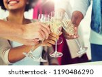 celebration  people and... | Shutterstock . vector #1190486290