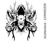 vector hand drawn illustration...   Shutterstock .eps vector #1190492539