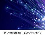 fiber optics  abstract   blur...   Shutterstock . vector #1190497543