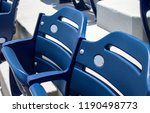 close up on stadium seats and... | Shutterstock . vector #1190498773