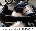 retro motorcycle and bike... | Shutterstock . vector #1190500810