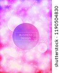 purple cover with liquid neon...