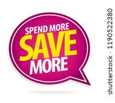 sale and special offer tag ... | Shutterstock .eps vector #1190522380