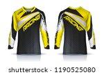 t shirt sport design template ... | Shutterstock .eps vector #1190525080