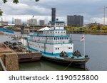 portland  oregon   sep 16  2018 ... | Shutterstock . vector #1190525800