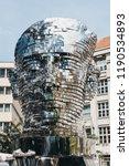 prague  czech republic   august ... | Shutterstock . vector #1190534893