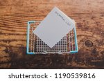 shopping basket with shopping... | Shutterstock . vector #1190539816