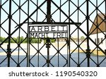 dachau concentration camp  the... | Shutterstock . vector #1190540320