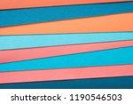 multicolor construction paper... | Shutterstock . vector #1190546503